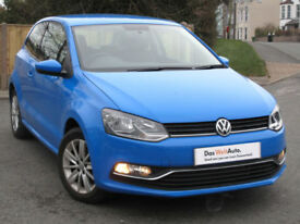 Volkswagen POLO SE 1.0 60ps ( BMT ) 2016 : Mayan Blue : Only 4200 mi