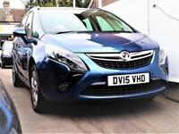 (5100 Miles)-- 2015 Vauxhall/Opel Zafira Tourer 1.8 i Exclusiv -- Very Low Miles