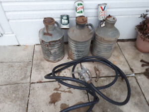 VINTAGE GAS AND OIL ITEMS