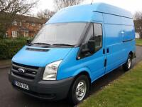 Ford Transit 2.4 TDCI 350 MWB + HIGH ROOF + PANEL VAN