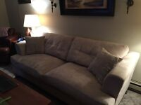 Ultra Suede couch $200