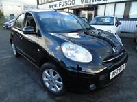 2011 Nissan Micra 1.2 Acenta - Black - Platinum Warranty!