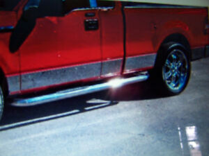 Willmore® 756711 Polished Rocker Panel Covers F-150 2004-2008