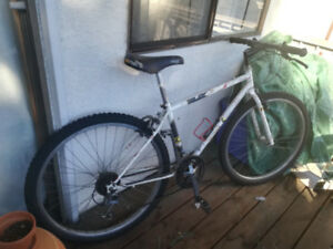 White Kona Mountain Bike - Cinder Cone