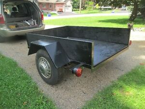 4 feet by 6 feet Utility Trailer For Sale