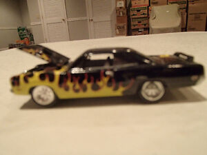 Loose Black w/Flames 1970 '70 PLYMOUTH GTX 440/375 Motor JOHNNY Sarnia Sarnia Area image 3