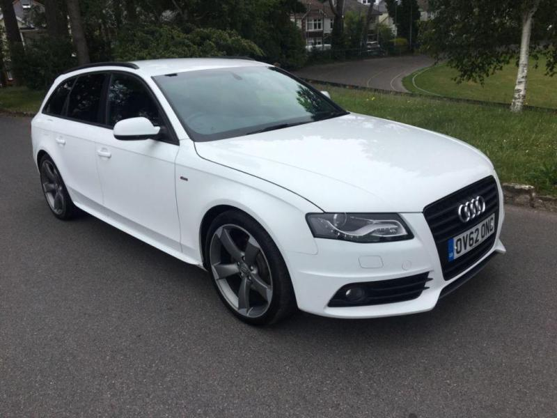 2012 62 audi a4 2 0 avant tdi s line black edition 5d auto 141 bhp diesel in bournemouth. Black Bedroom Furniture Sets. Home Design Ideas