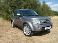 Land Rover Discovery 4 3.0SDV6 (255bhp) 4X4 XS Station Wagon 5d 2993cc Auto