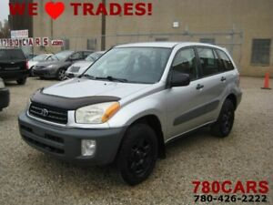 2001 Toyota RAV4 4WD - EXCELLENT FOR SNOW - TRADES WELCOME