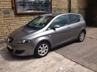 Seat Altea Stylance Sport 2004 1.6 100BHP Petrol Manual Hpi Clear MAY PX swap
