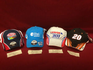 NASCAR and RACING CAPS - YOU GET ALL 8 PLUS MEGA BLOCKS Windsor Region Ontario image 1