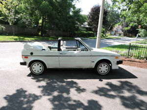 1986 VW Cabriolet Mint
