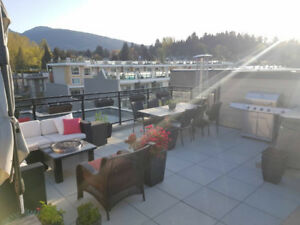 Pet friendly! Top floor unit with private patio and hot tub