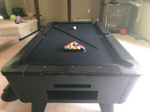 Pool table (coin operated)