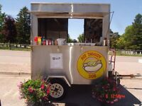 LOCATION WANTED FOR MY HOT DOG CART FOR THE UPCOMING 2916 SEASON