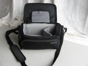 SONY camera bag, very clean, 10 x 6 x 6 inches.