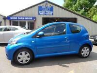 2009 09 TOYOTA AYGO 1.0 BLUE VVT-I 3D 67 BHP AIR CON £30 A YEAR ROAD TAX