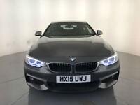 2015 BMW 420D M SPORT AUTOMATIC DIESEL 1 OWNER BMW SERVICE HISTORY FINANCE PX