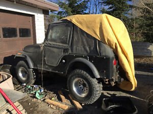 1977 Jeep CJ Convertible