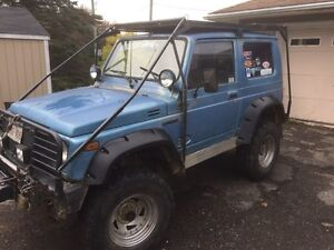 '86 Suzuki Samurai Licensed & Inspected until September 2017