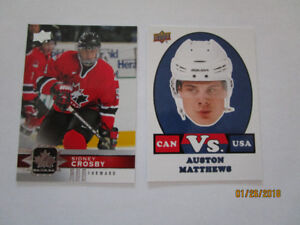 Cartes hockey Upper Deck 2017-18 Team Canada