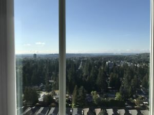 Brand New 2 bed + 2 bath new Coquitlam Centre for rent