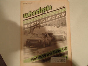Collection of 6 Vintage WHEELSPIN NEWS Canada's Motorsport News Sarnia Sarnia Area image 3