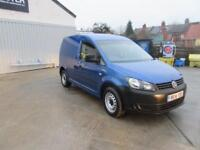 Volkswagen Caddy C20 1.6 Tdi 102Ps Startline Van DIESEL MANUAL BLUE (2014)
