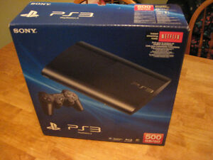 "PS3 "" BOX ONLY "" SLIM VERSION Cambridge Kitchener Area image 4"