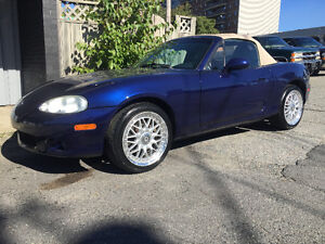 2004 Mazda MX-5 Miata GT Convertible trade for snowmobile