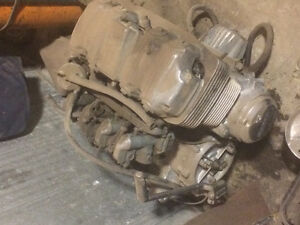 1977 Honda 750 motorcycle parts and engine