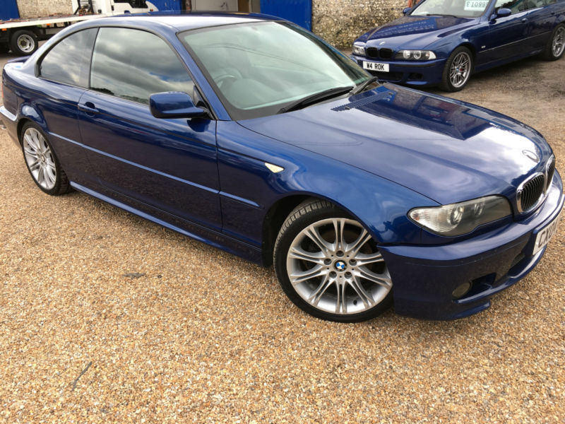 2004 39 04 39 bmw 320 cd m sport auto diesel automatic coupe e46 px swap in waterlooville. Black Bedroom Furniture Sets. Home Design Ideas