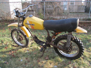 Kawasaki KM100 for parts or project - no engine