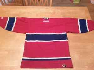 YOUTH MONTREAL CANADIENS HOCKEY JERSEY West Island Greater Montréal image 2