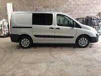 Peugeot Expert 2.0 HDi 120 Scudo Dispatch Crew Van Transit Cheap Day Camper
