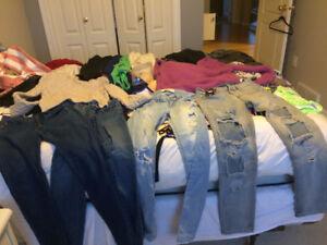 xs/s lulu lemon, workhall, victoria secret..huge lot of clothes