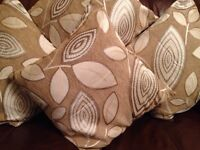 Cushions & Covers Complete x4 (New)