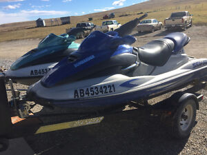 Two Sea Doo's with Trailer