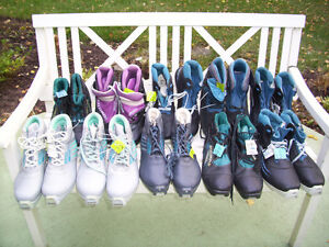 Cross Country Skier with Big Foot Sizes11.0,11.5,12.0,12.5 Boots