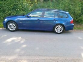 BMW 320d touring estate in good condition. Sold