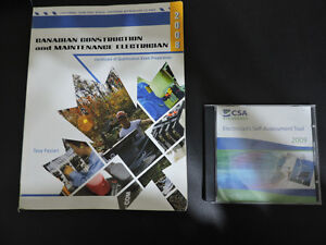 Electrician C of Q Exam Study Book and Disc