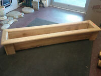 4 Foot Wood Cedar Plant Box (10 Available) ONLY 3 LEFT