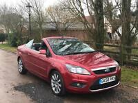 Ford Focus CC-2 2.0 2008 (58) CC-2 CONVERTIBLE LOW MILEAGE