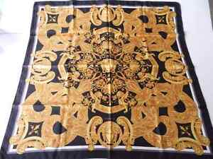 NEW WITH TAGS Authentic Versace Silk Scarf