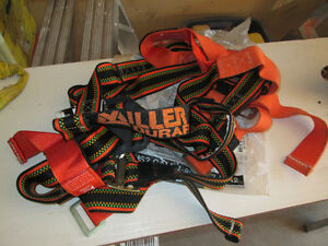 Safety harness and lanyard - brand new