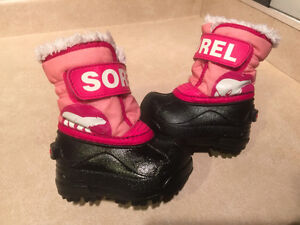 Toddler Sorel Winter Boots Size 4