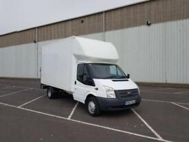 2012 62 PLATE Ford Transit 125 T350 LWB LUTON VAN ( Finance Available )