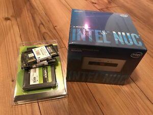Intel NUC6i3SYH + 16 gb RAM DDR4 et SSD 480GB  ** neuf **