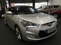 2012 HYUNDAI VELOSTER 1.6 GDi Sport DCT Auto From GBP11650+Retail package.