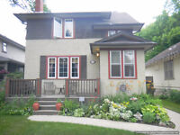4 BDRM FURNISHED WOLSELEY CHARACTER HOME AVAIL NOV 15